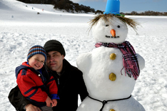 Perisher Valley snowman